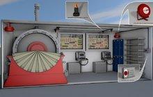 Система пожаротушения дизель-генераторных установок, готовые решения Гранит-Саламандра