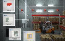 Система пожаротушения складов, хранилищ, цехов и других помещений производственного назначения, готовые решения Гранит-Саламандра